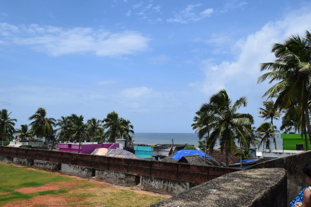 Sea View from the Anchuthengu fort