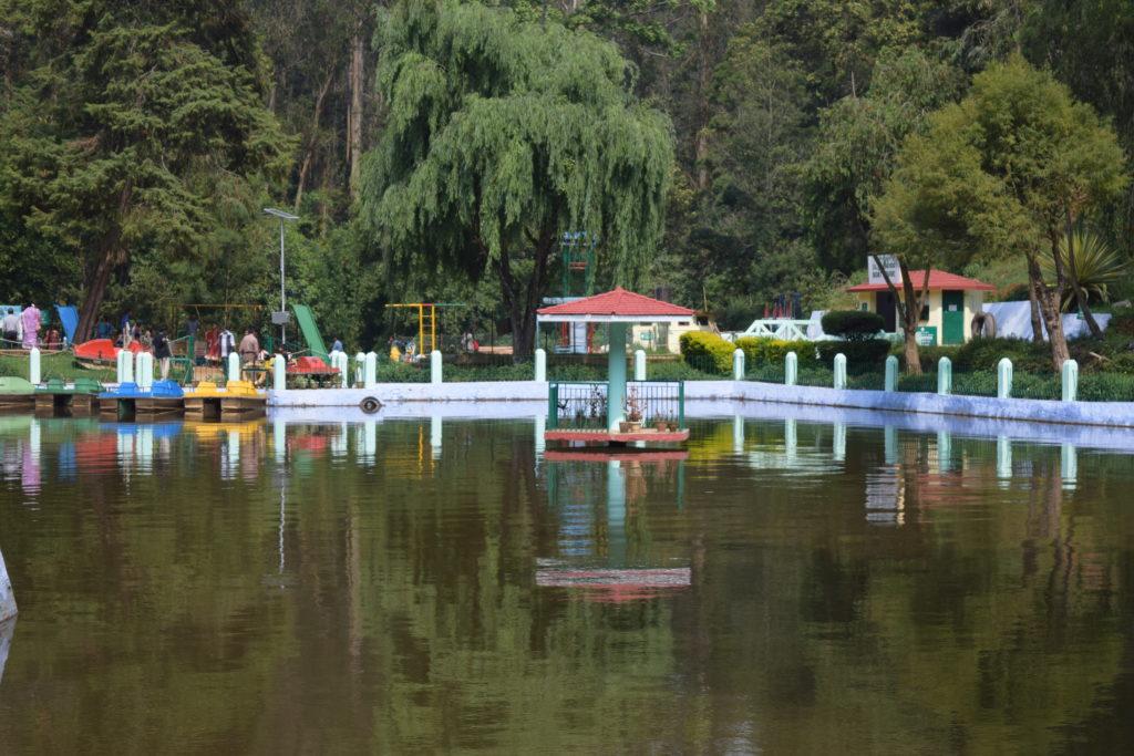 Lake inside Sim Park, Coonoor