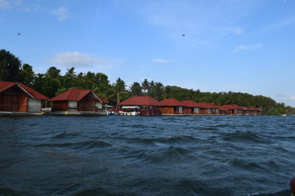 Floating hotels at Neyyar Lake