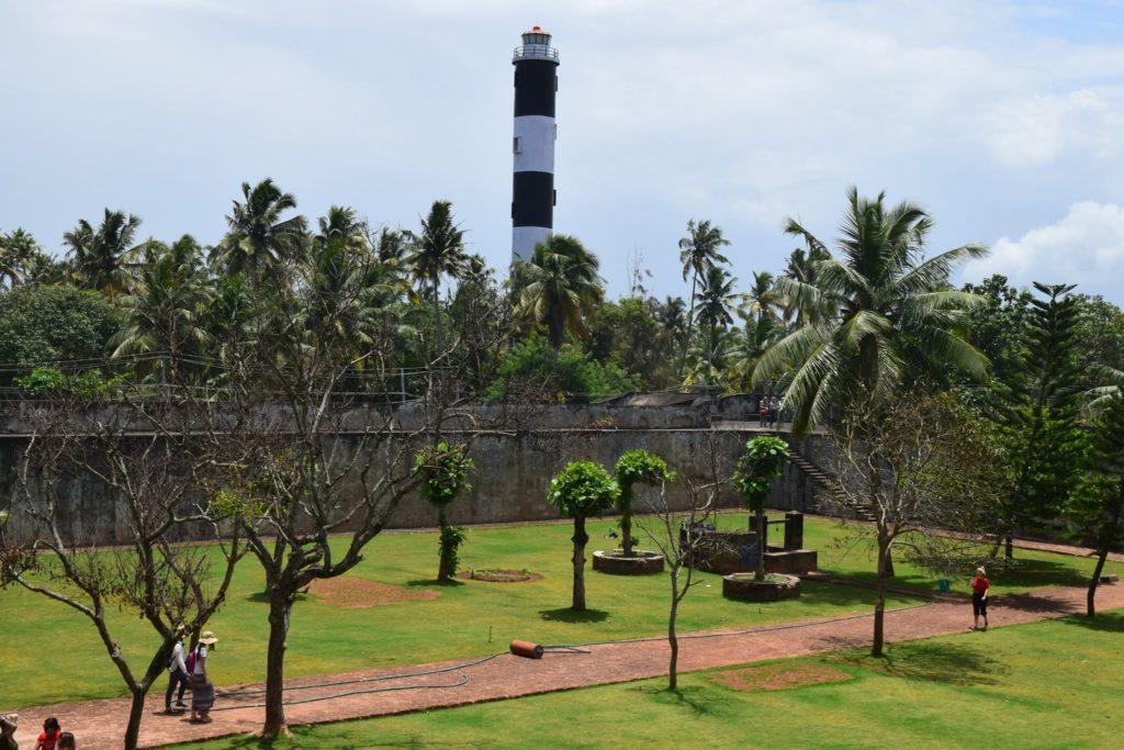 The light house of East india Company Kerala