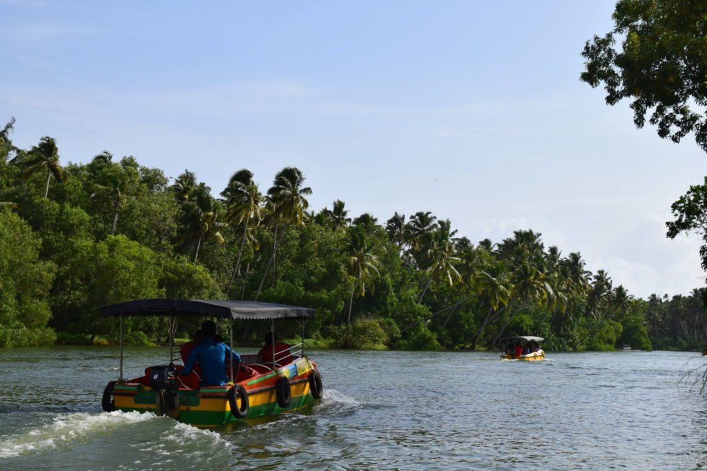 Poovar Backwater. Kerala