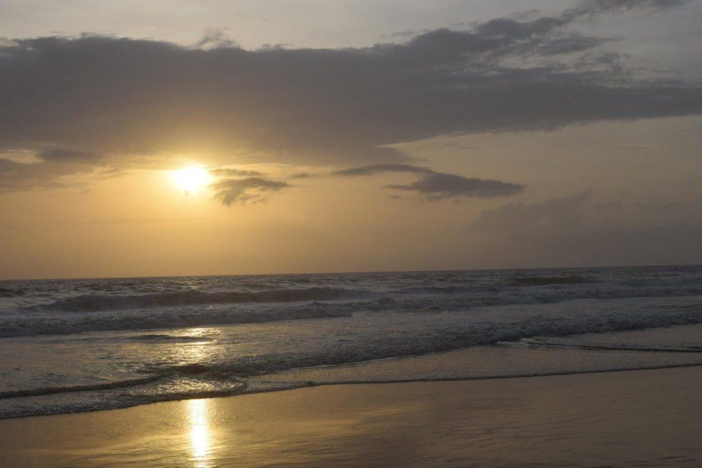 Sunset at Hawa beach, Kerala