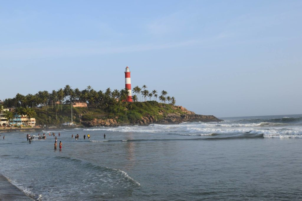 Light house beach, Kovalam