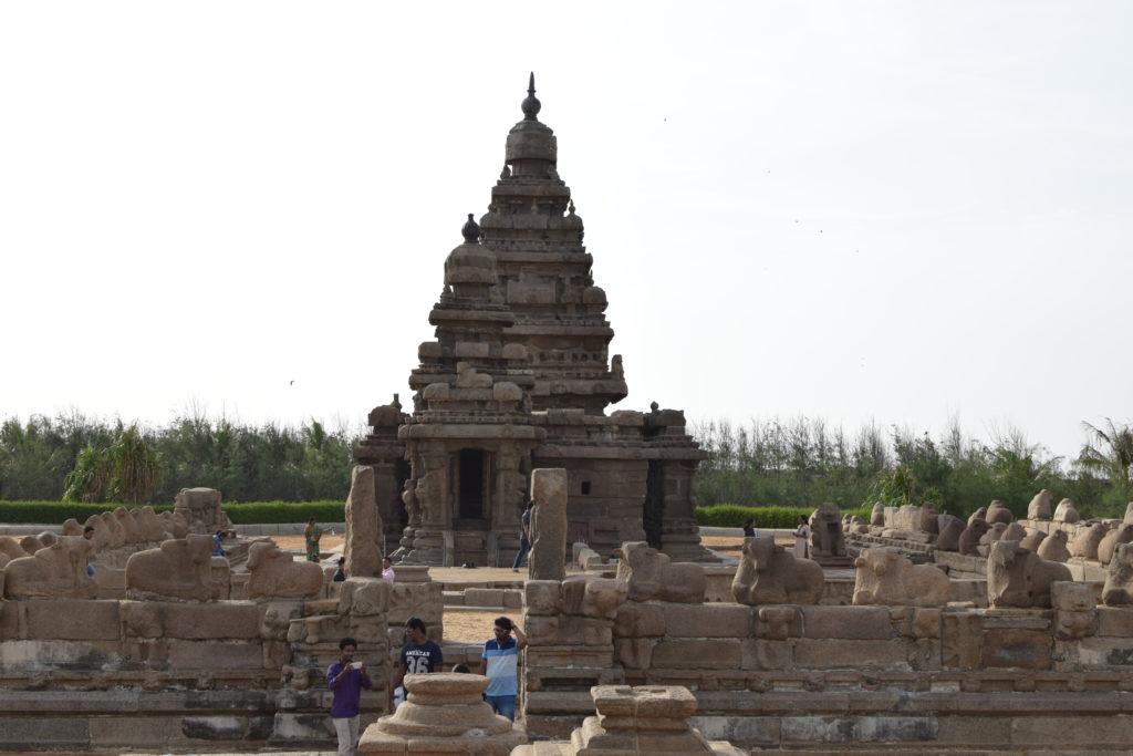 Sea Shore Temple, Mahabalipuram