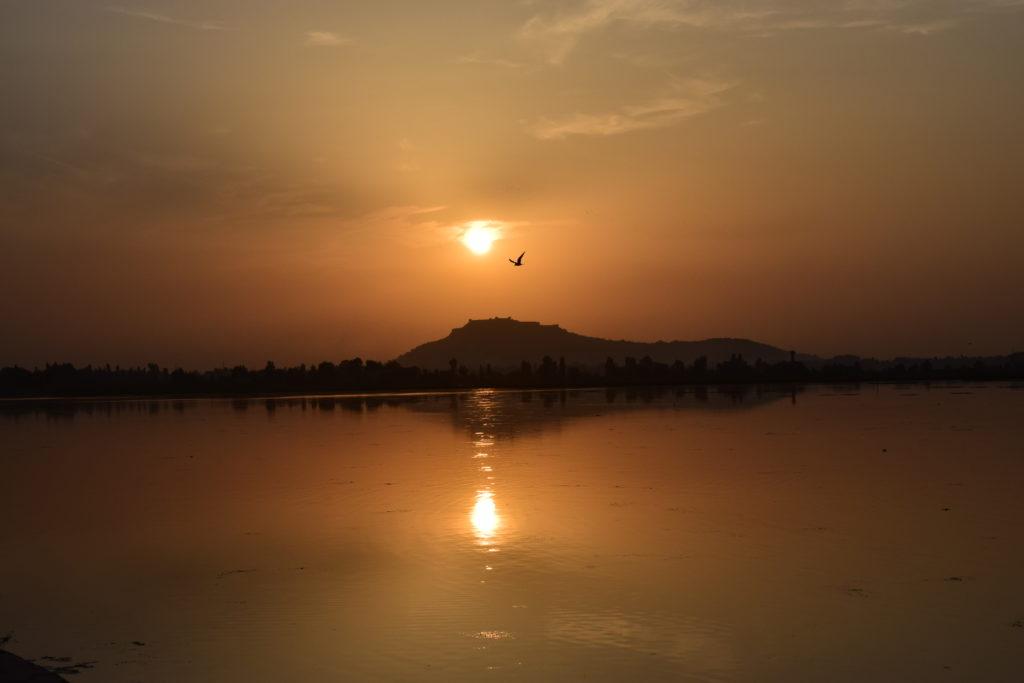 Sunset at Dal Lake, Srinagar