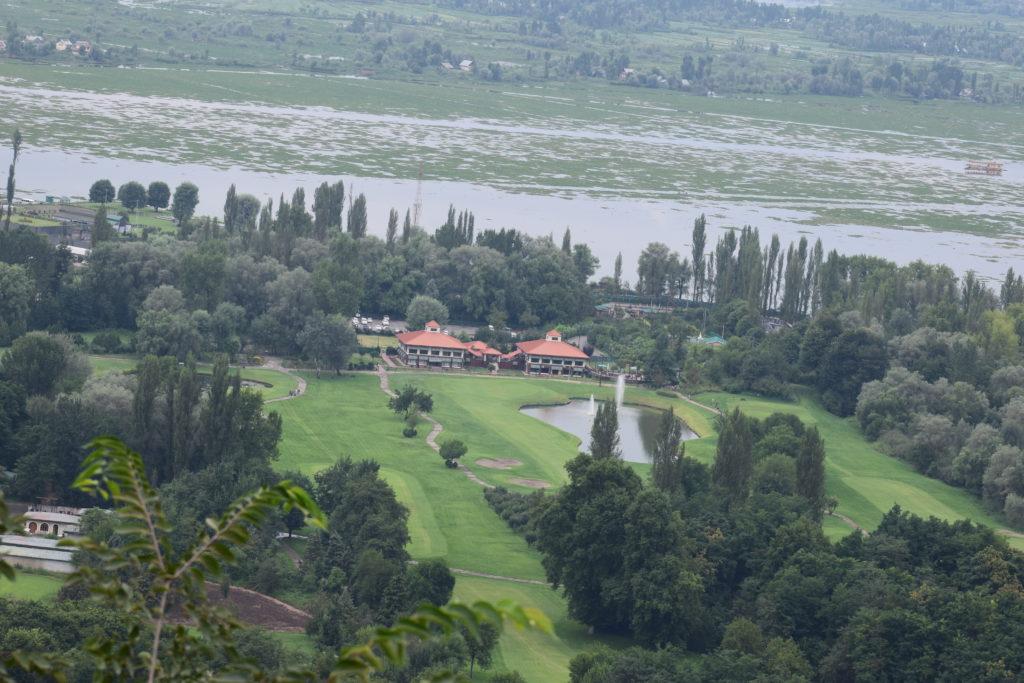 View of Srinagar from Pari Mahal