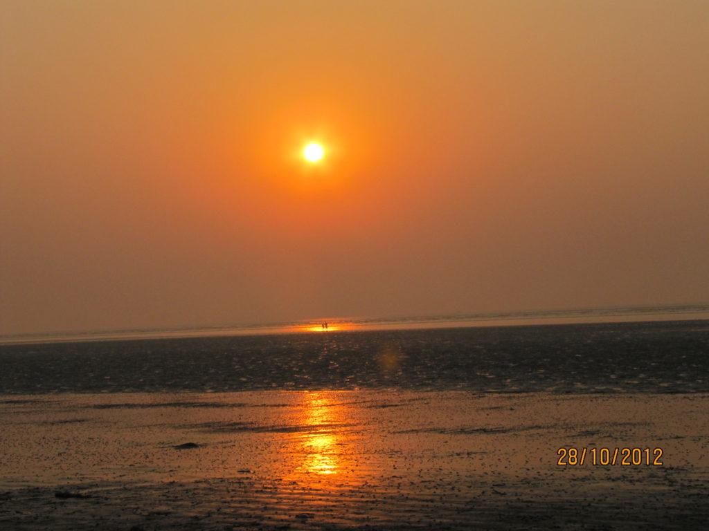 Sunrise at Chandipur Orissa