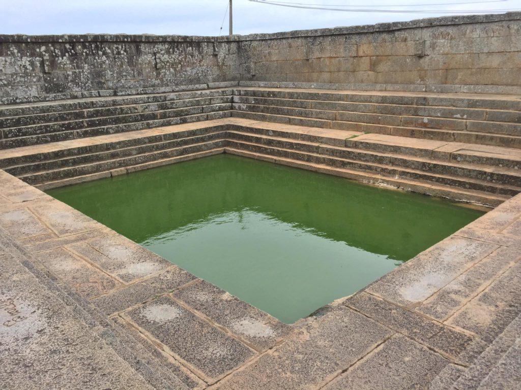Pond behind the Nandi Temple