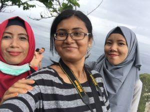 Ladies who helped me in the Nusa Penida