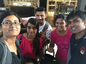 Indian Friends met at Bali Airport