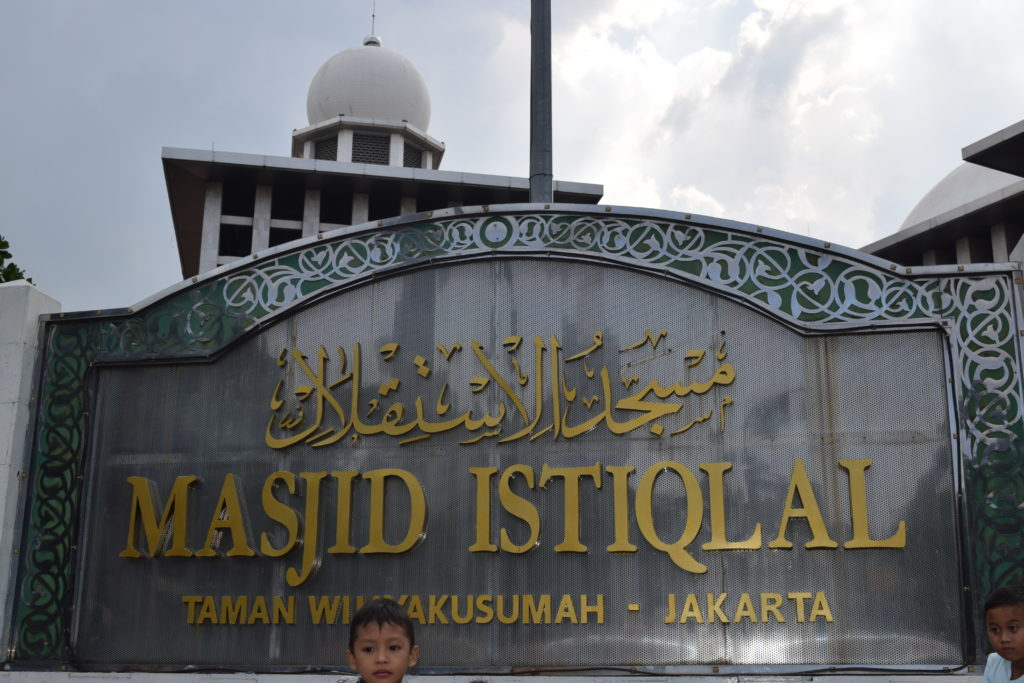 Istiqlal Mosque, the largest in South East Asia