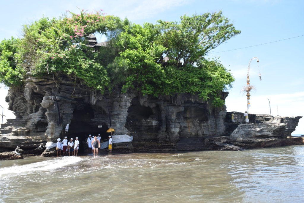 Temple at Tanah Lot