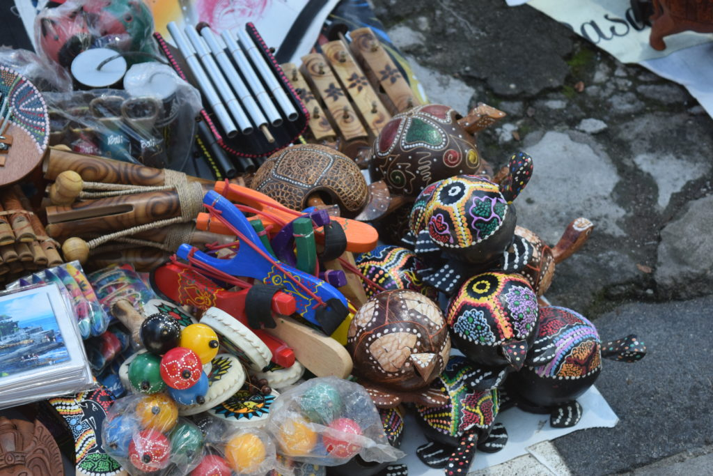 handicraft at Tanah Lot, Bali