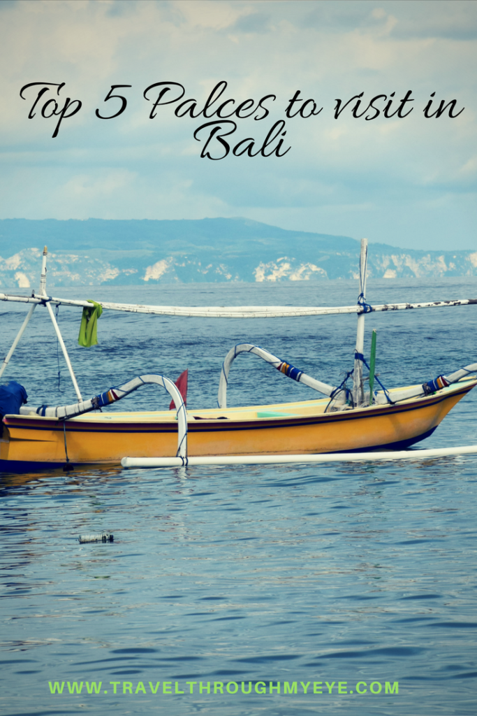 top 5 Palces to visit in Bali