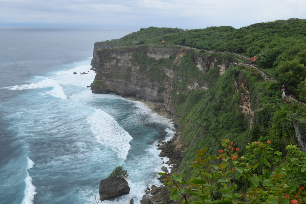 The Cliff from Uluwatu Temple, among Top 5 places to visit in Bali