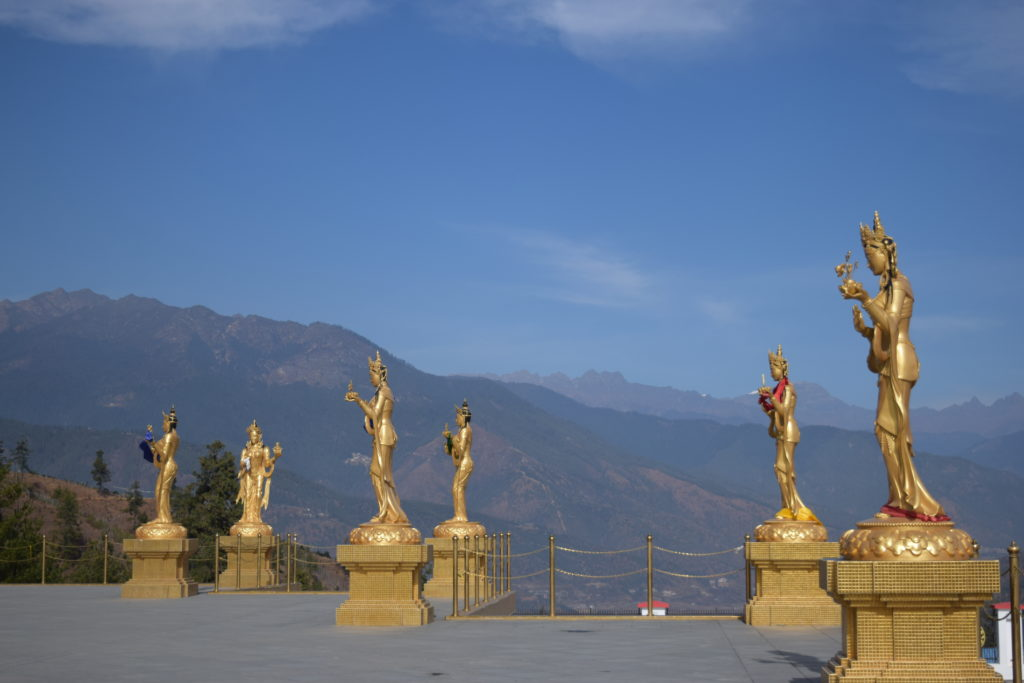 Sourroundings from Buddha Point, Thimphu