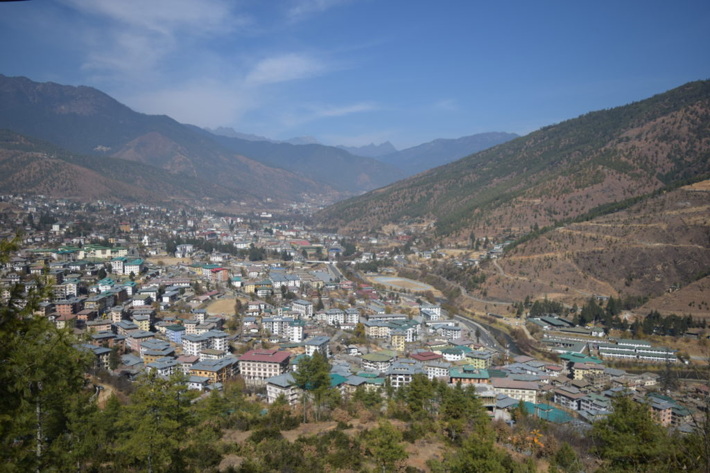 Thimphu City View