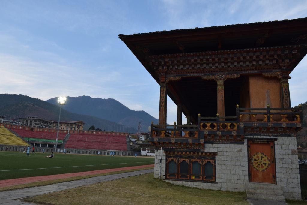 Play Ground at Thimphu