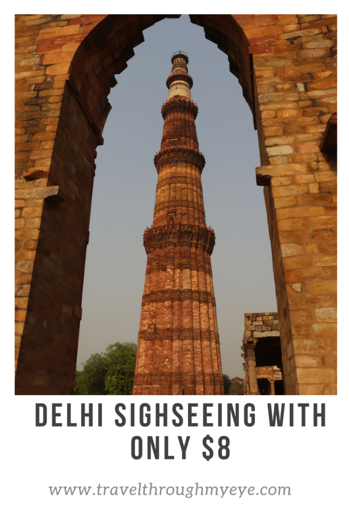 Plan your Delhi local sighseeing with $8