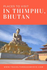 Thimphu Bhutan point of interest