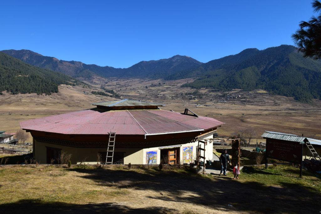 Black neck Crane visitor Center, Phobjikha Valley