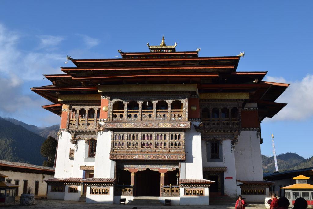 Gangteng Monastery, Gangtey Valley