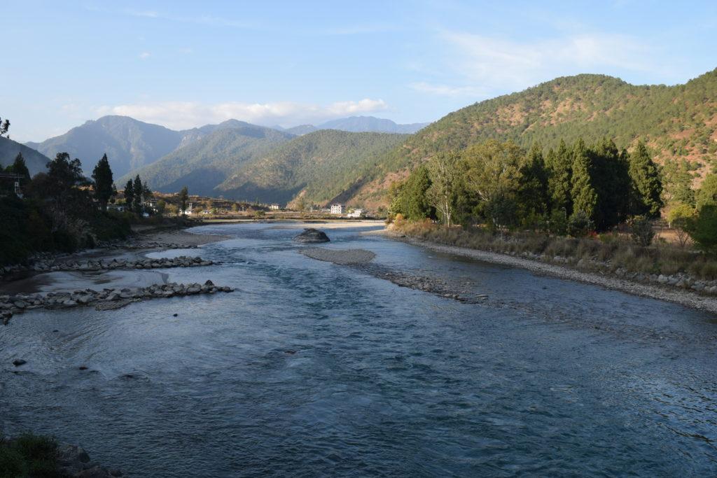 Mo CHu and Po Chu River at Punakha