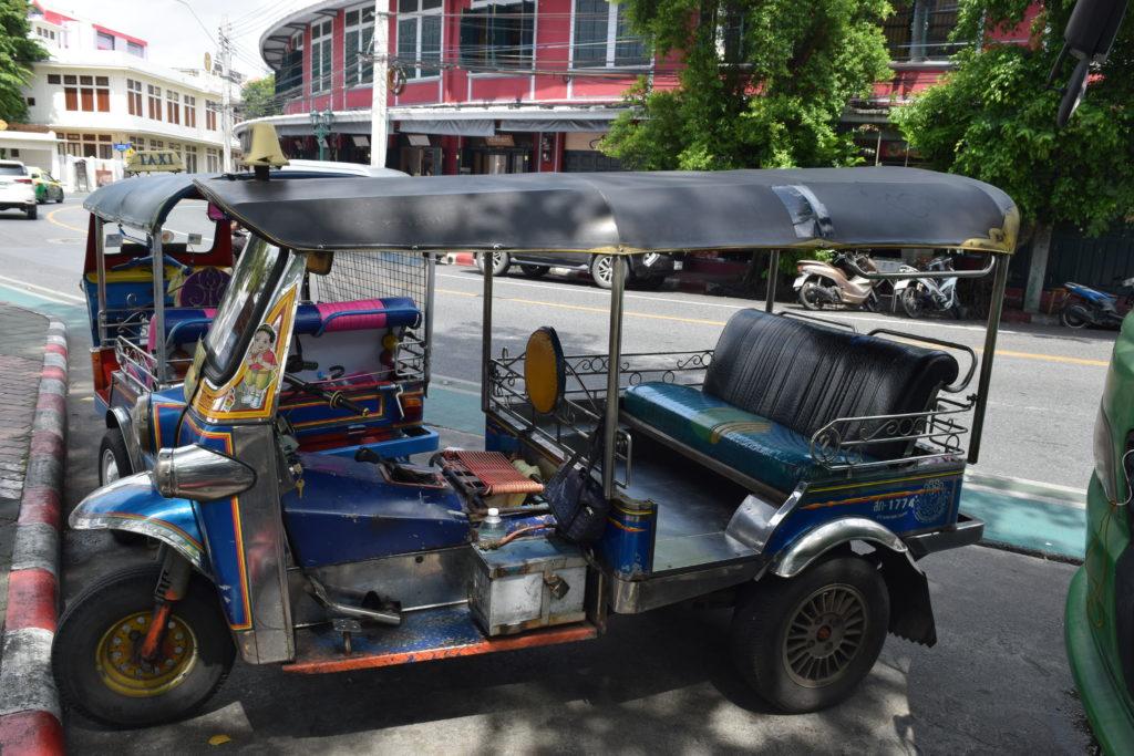 Tuktuk at Bangkok roads