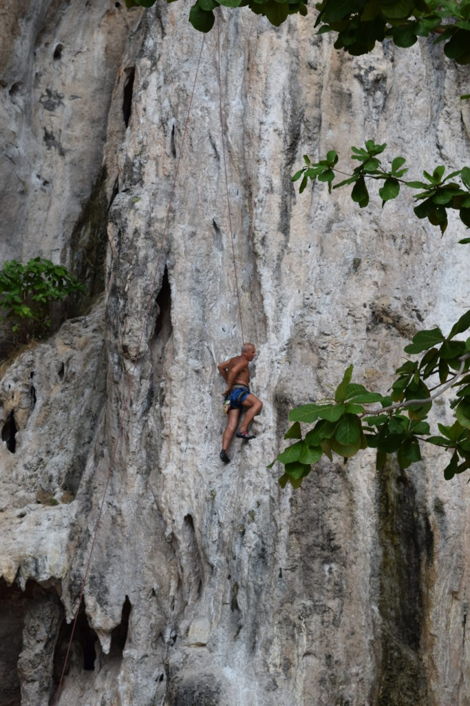 Rock Climbing-Things to do in Railay Beach