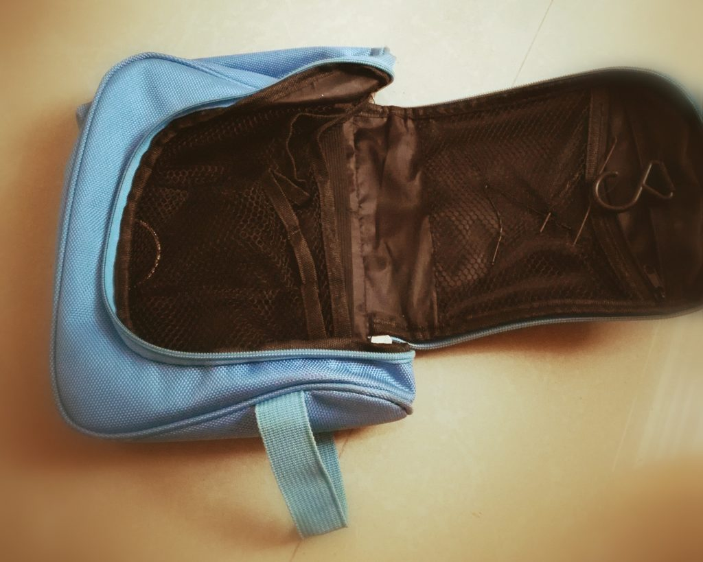 My packing list example-Toiletry bag