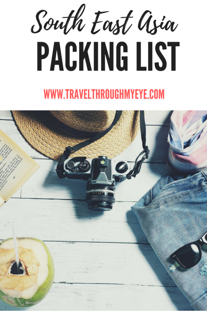 South East Asia Packing list