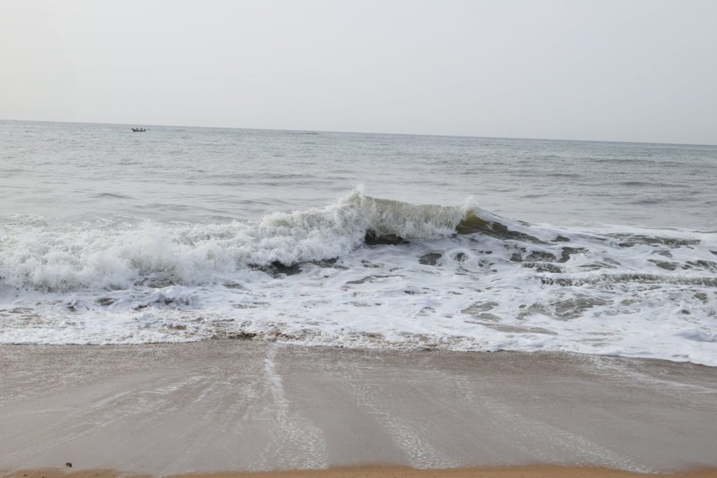 Bay of Bengal at Mahabalipuram