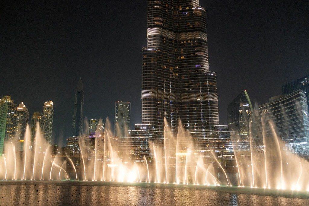 Dubai Fountain for Dubai sightseeing tours