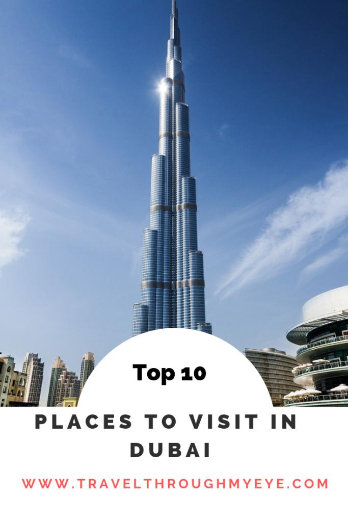 top 10 Dubai Sightseeing tours