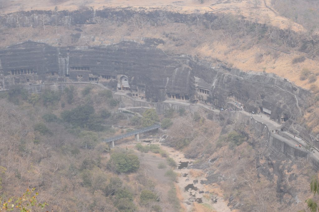 Ajanta Cave from the view point